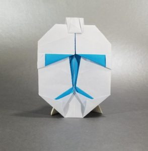 How to fold an Origami Clone Trooper - YouTube | 300x294