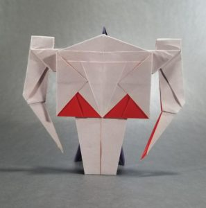 Origami General Grievous Puppet - Instructables | 300x297